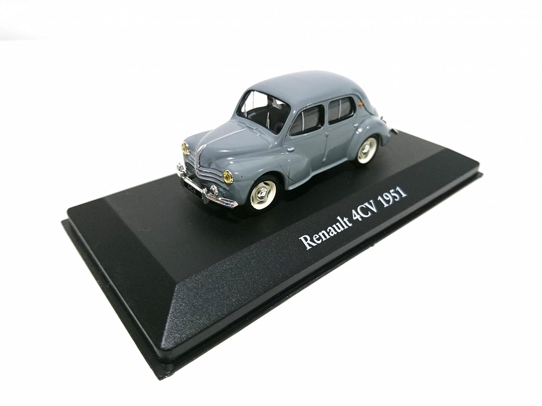 DIE Mythos Cars von Dominique CHAPATTE Ref: 13 Atlas Renault 4cv Grey von 1951