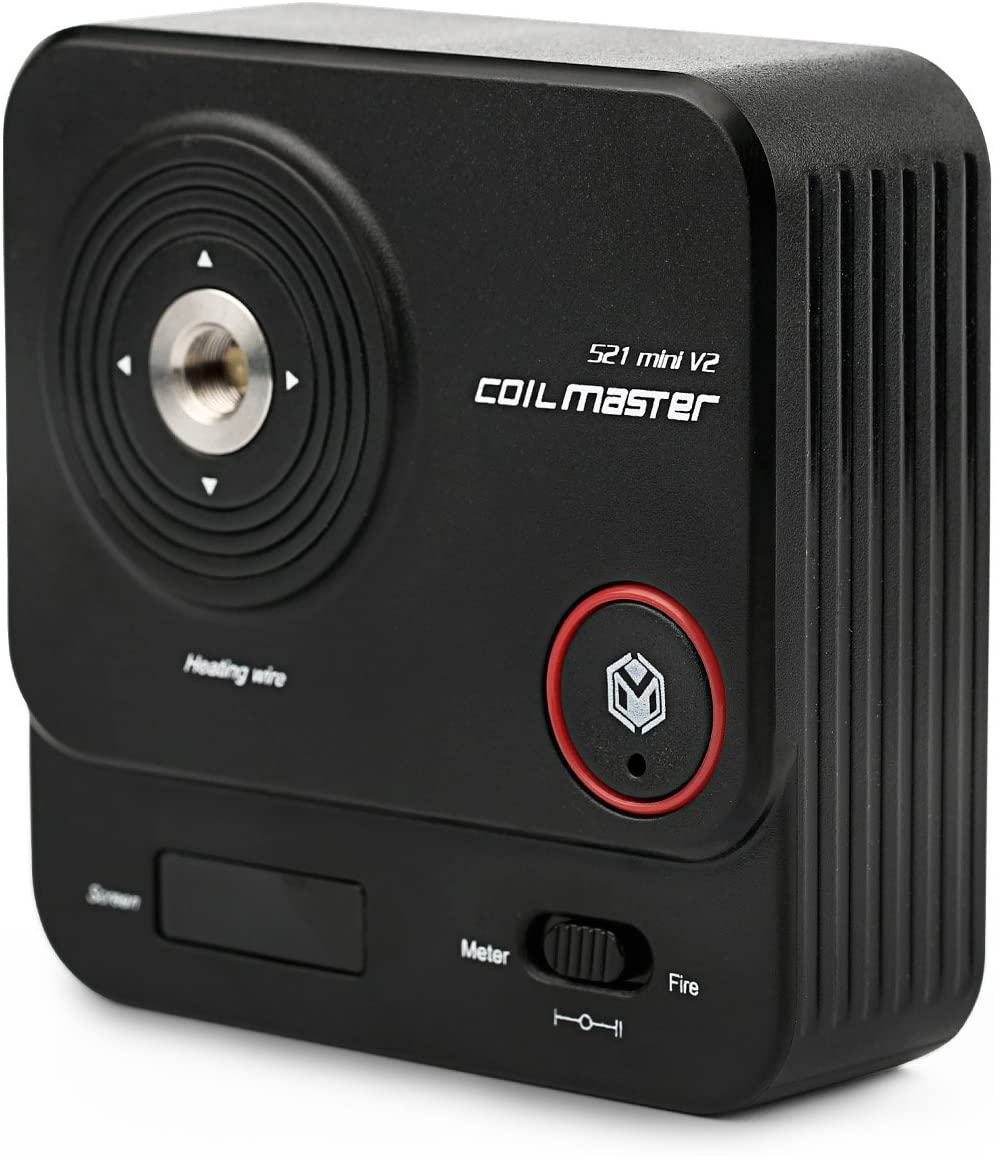 Comprobador de resistencia eléctrica multifunción con pantalla OLED para reconstrucción de bobinas VPDeal Coil Master 521