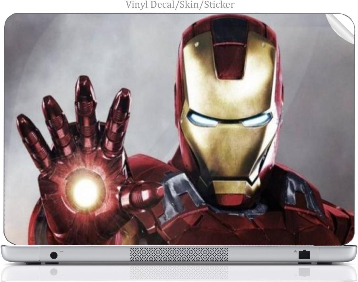 "Laptop VINYL DECAL Sticker Skin Print Comic Book Hero fits 15.6"" Laptop (15-d038dx)"