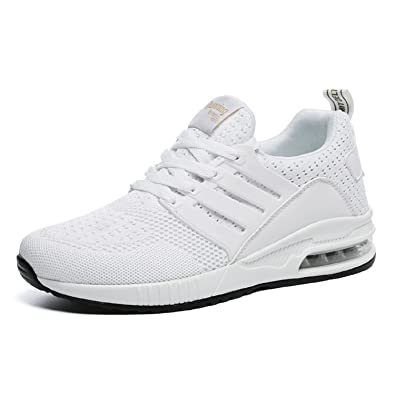 tqgold Uomo Donna Scarpe da Ginnastica Running Sportive Interior all Aperto  Tennis Fitness Basse Sneakers 6c258c2668e