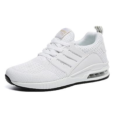 tqgold Uomo Donna Scarpe da Ginnastica Running Sportive Interior all Aperto  Tennis Fitness Basse Sneakers 0abd1d3d184