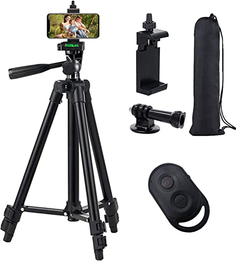 DURAGADGET Travel Mobile Phone Holder and Tripod with Removable /& Extendable Legs for Sigma sd Quattro//sd Quattro H