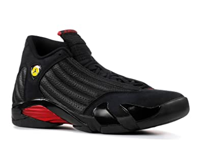 pretty nice ff3a5 0bbe3 Image Unavailable. Image not available for. Color  Air Jordan 14 Retro  Last  Shot ...
