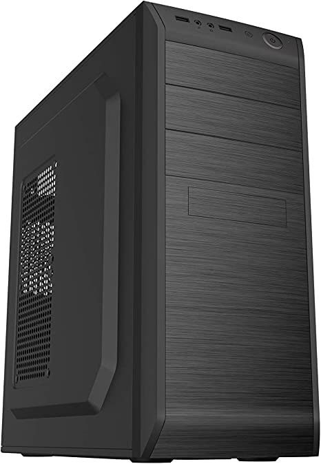 CoolBox F750 Escritorio Negro 500 W - Caja de Ordenador (Escritorio, PC, Negro, ATX, Hogar/Oficina, CE, RoHS) 200 x 415 x 415 mm (Ancho x Alto x Fondo): Coolbox: Amazon.es: Informática