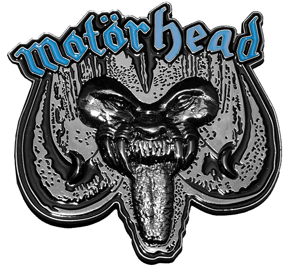 Amazon.com: Motorhead – Rock N Roll Hebilla De Cinturón: Shoes