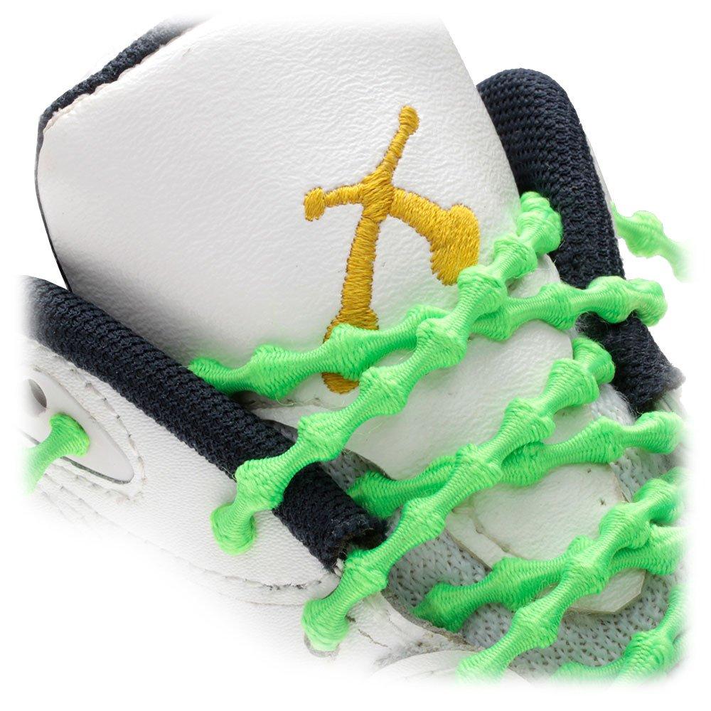 prix incroyable livraison gratuite Xtenex® - Xh200 (breveté) Jaune Fluo 40 Pas De Lacet De Chaussure Cravate Avec Noeud Conique coût de réduction JRI8YuwpfW