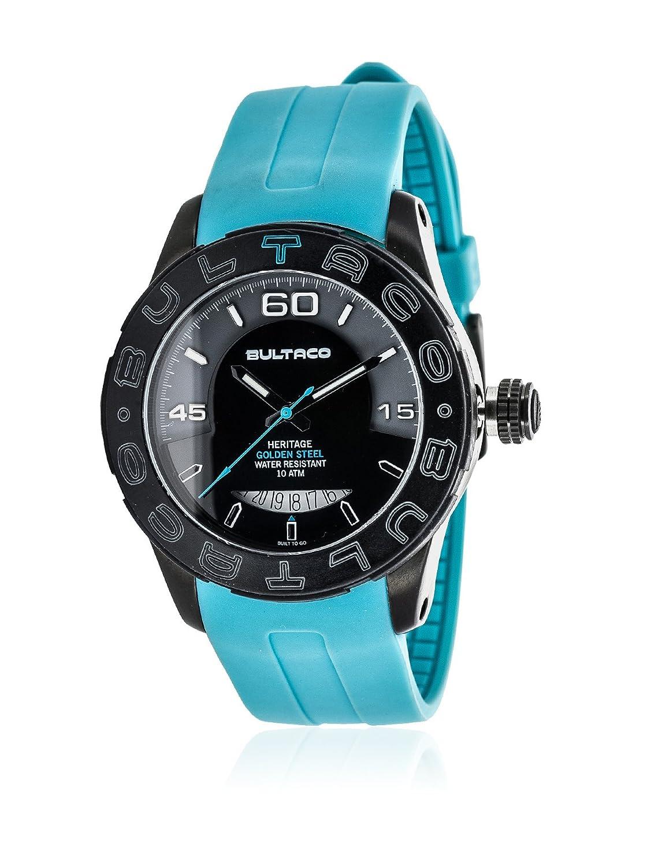 Bultaco Reloj Análogo clásico para Hombre de Cuarzo con Correa en Silicona H1AB43S-SG1: Amazon.es: Relojes