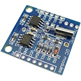 KKHMF DS1307 RTC クロックモジュール小型RTC I2C 24C32メモリArduino用