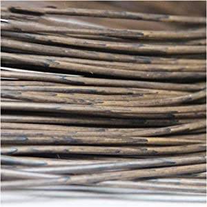 Queenbox 500g(70m) Synthetic Rattan Weaving Material, 3mm Width Solid Round Plastic PE Rattan for Knit Repair DIY Art & Craft Basket Making Chair Table Handmade Storage Furniture