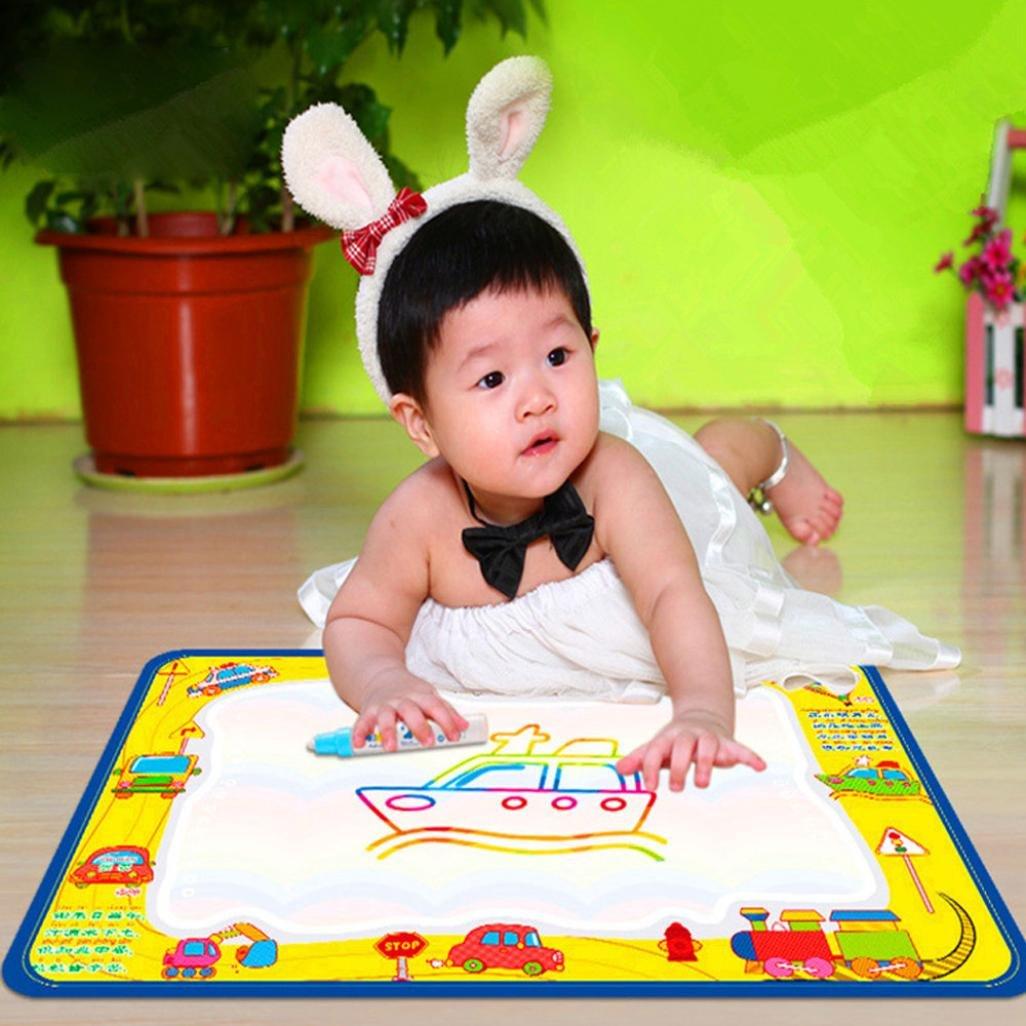 Yogogo - Jouets éducatifs - Baby - Dessin Peinture Eau magique Cadeau Doodle Pen Writing Conseil Mat - 50cmX35cm Yogogo_005 Natures mortes