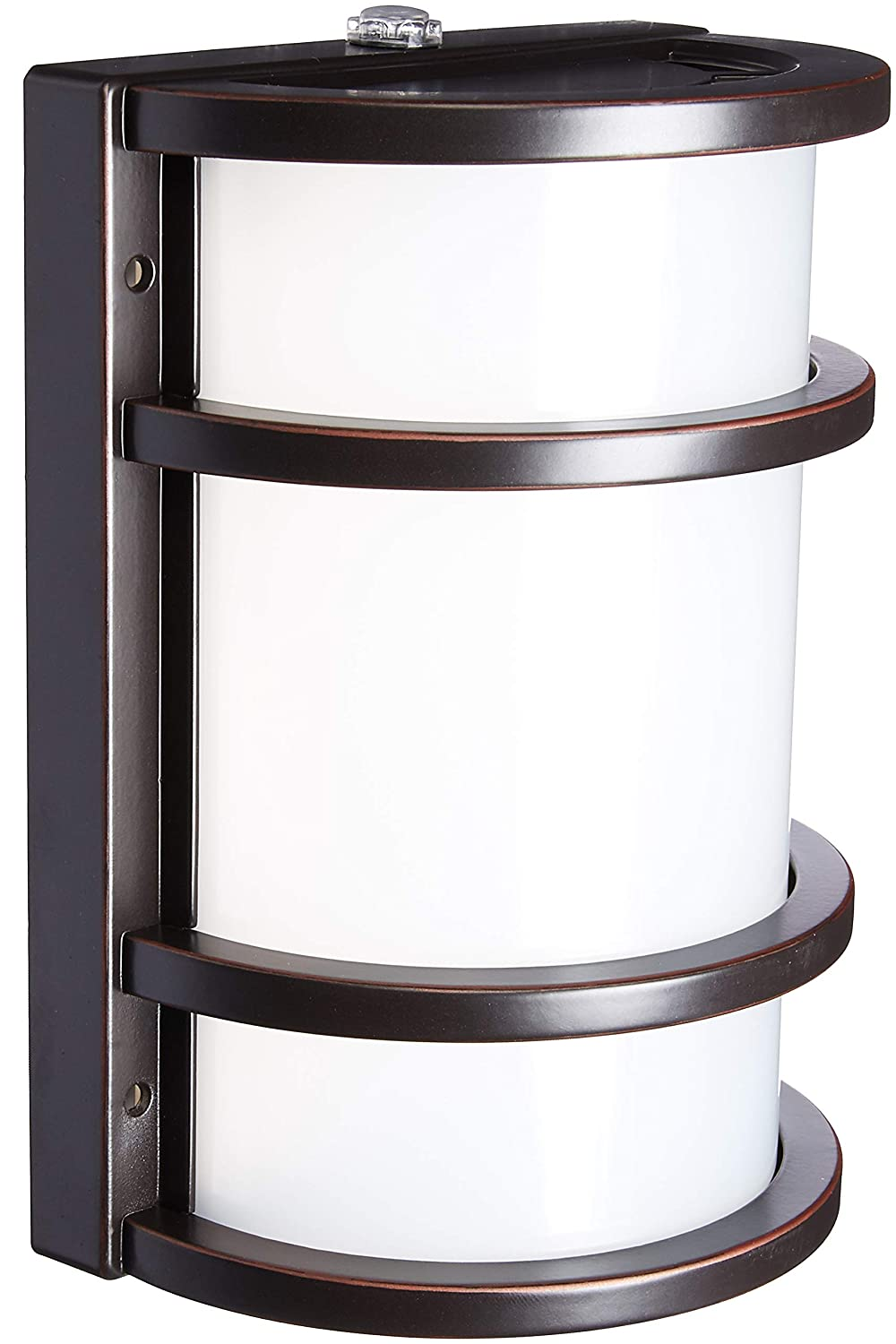 Feit Electric - Dusk to Dawn LED Bronze Half Moon Security Outdoor Light, 5000K (73702)