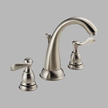 Delta Foundations 35996lf Bn Two Handle Widespread Bathroom Faucet