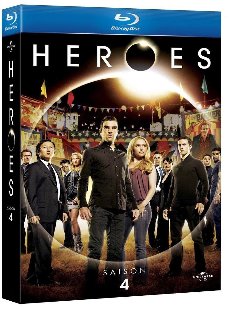 Heroes - Saison 4 [Francia] [Blu-ray]: Amazon.es: Jack ...