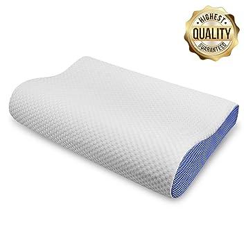 Amazon Com Eseoe Memory Foam Pillow Orthopedic Contour Pillow For