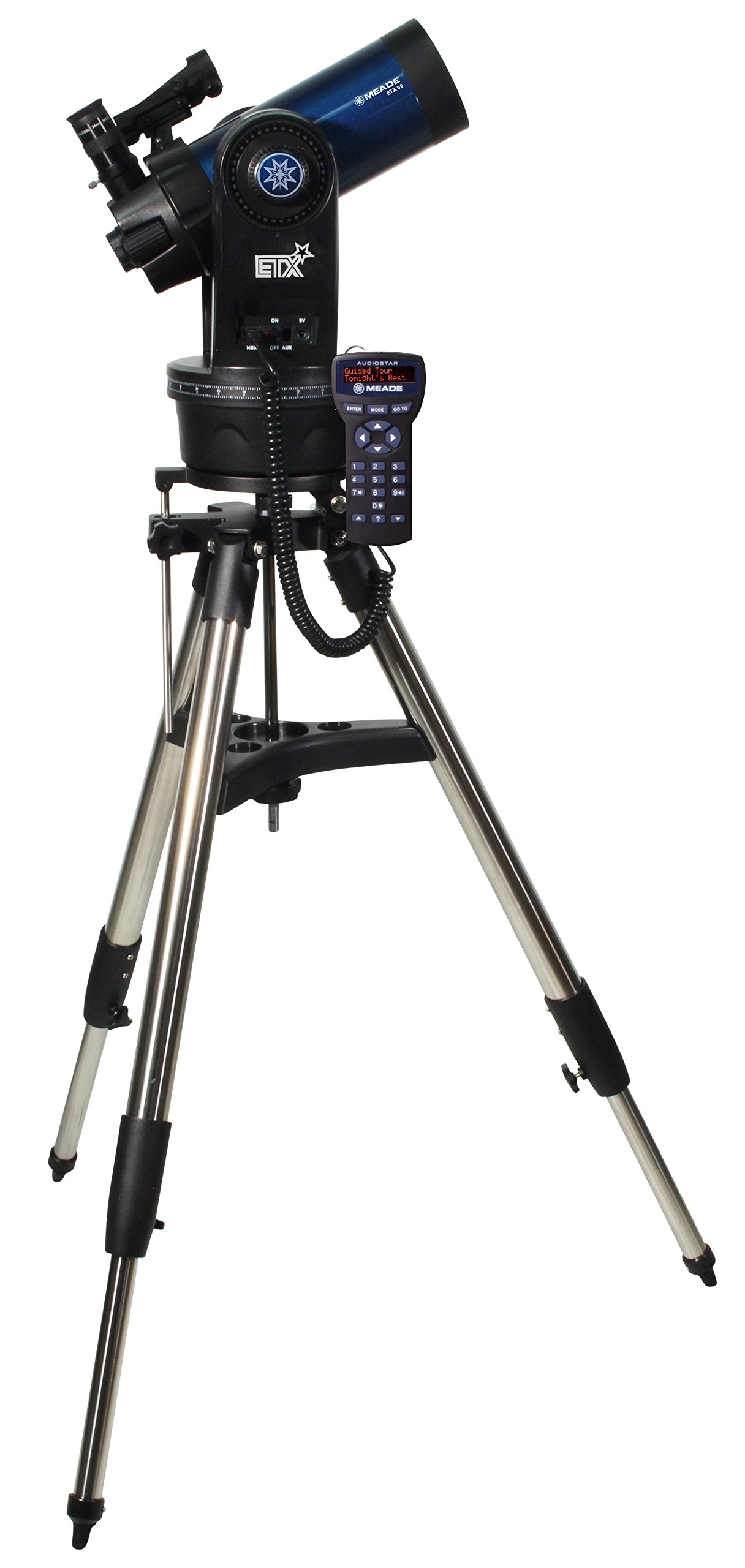 Meade Instruments 205004 ETX90 Observer Maksutov-Cassegrain Telescope with Tripod, Eyepieces, and Hand Carry Case by Meade Instruments