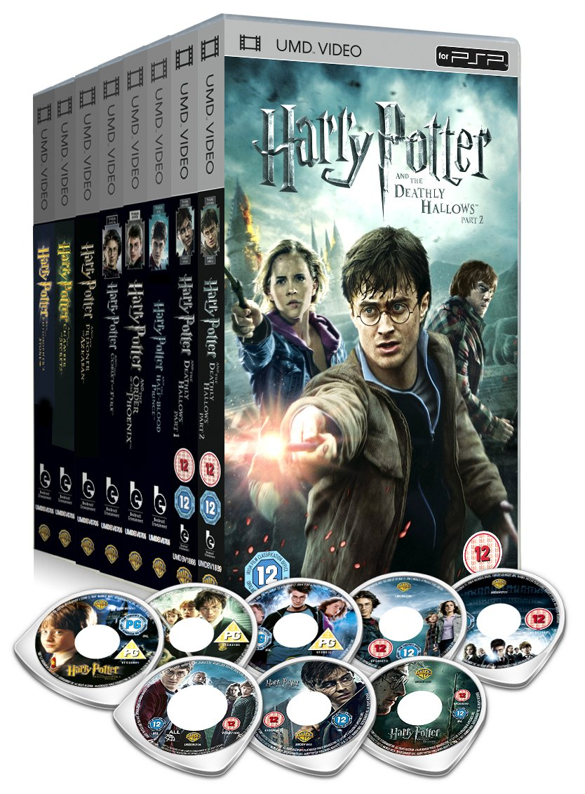 Harry Potter Book Movie Differences ~ Harry potter the complete film set umd amazon daniel