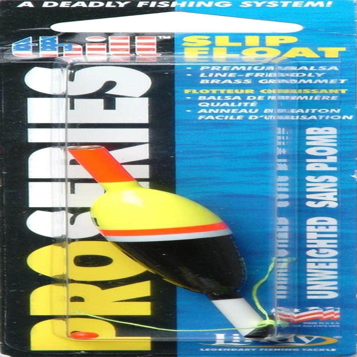 3//4 in Unweighted PS115 Thill Pro Series Slip Floats Large NEW