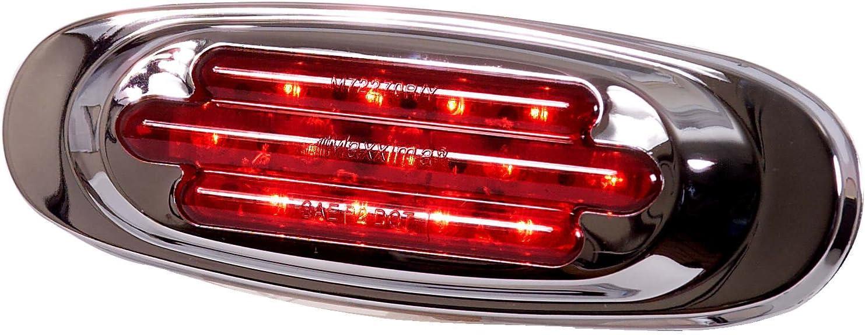 Maxxima M63124Y LED Transportation Lighting Oval Amber Turn//Side Marker