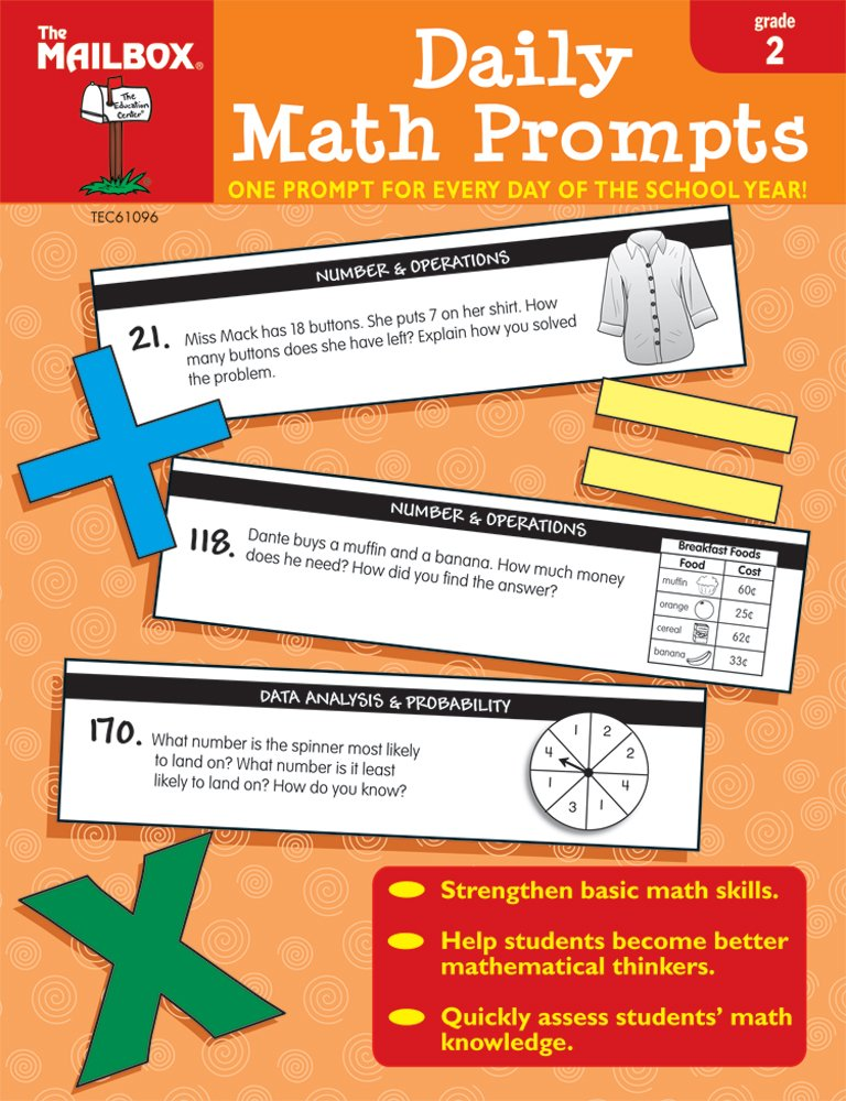 Download Daily Math Prompts (Gr. 2) PDF