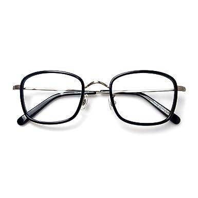 Komehachi - Retro Rectangle Eyeglasses Frames for Women Clear Lens ...