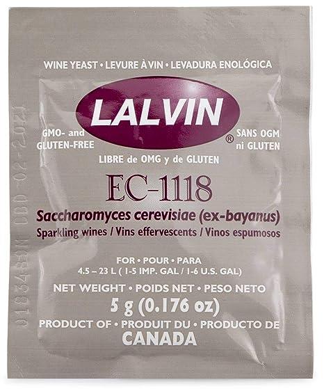 Lalvin LEVADURA DE VINO k1-v1116 5g: Amazon.es: Hogar