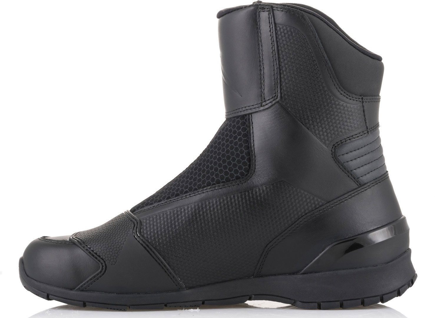 Alpinestars Portland Gore-Tex CE Leather Motorcycle Touring Boots Black