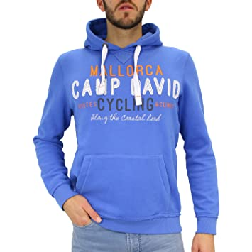 e074f84cae58 Camp David Herren Hoodie mit Artwork  Amazon.de  Sport   Freizeit