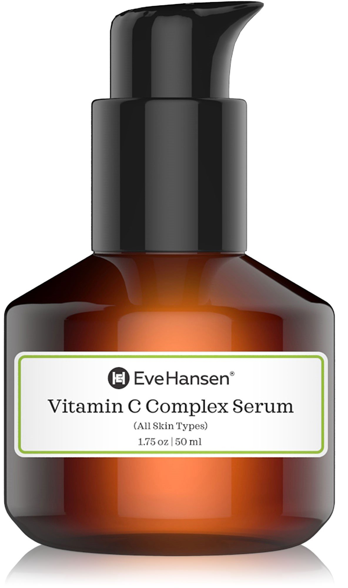 Complex Vitamin C Serum by Eve Hansen. Natural and Pure Anti Aging Serum that Protects Against Sun Damage and Wrinkles. 2 Ounces.