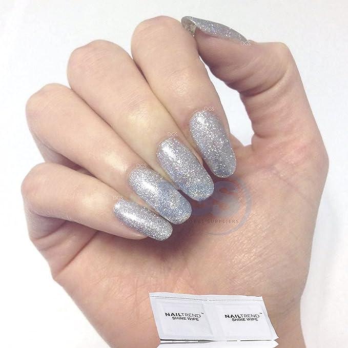 Bluesky 80573 Gel Nail Polish, Silver Glitter Explosion: Amazon.co ...