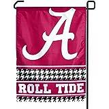 """NCAA Alabama Crimson Tide """"Hounds-tooth"""" Garden Flag"""