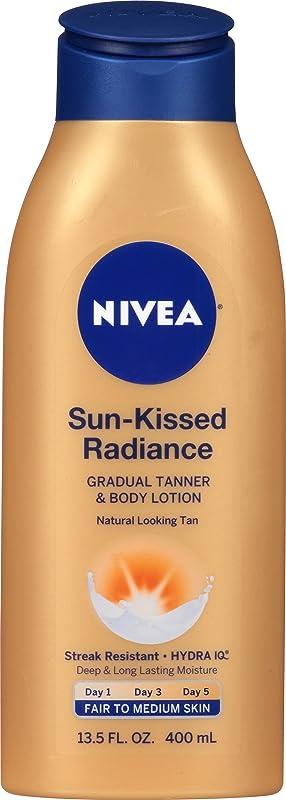 Nivea Sun-Kisses Radiance Fair to Medium Gradual Tanner & Body Lotion