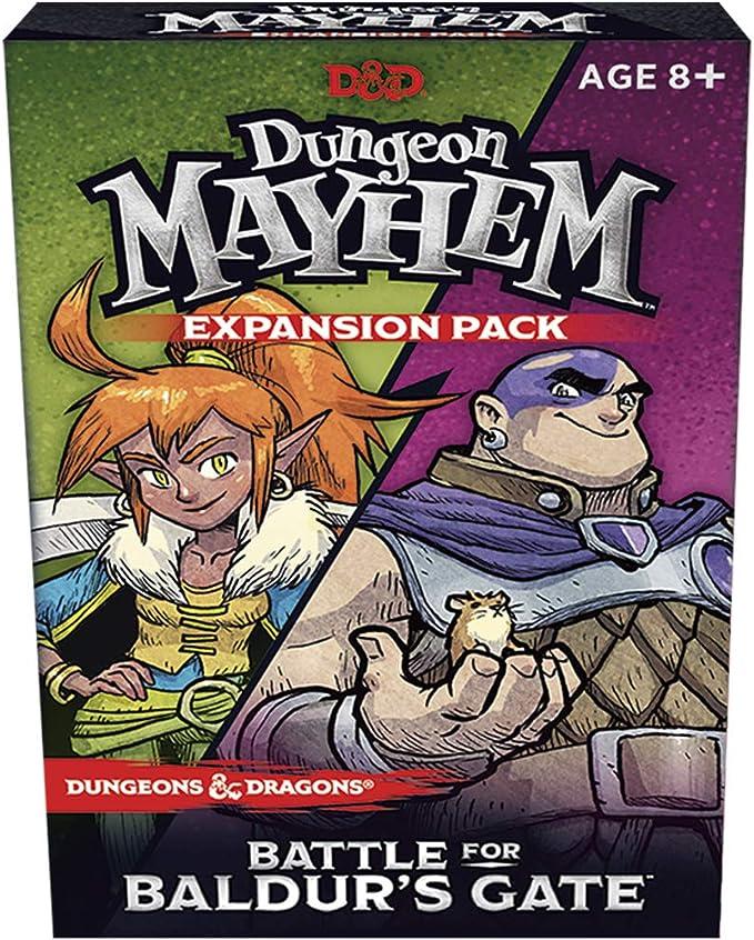 Wizards of the Coast Expansión del Juego de Cartas Dungeon Mayhem ...