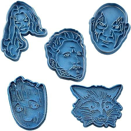 Cuticuter Guardianes De La Galaxia Pack Cortador de Galletas, Azul ...
