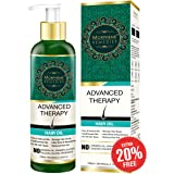 Morpheme Remedies Advanced Therapy Hair Oil for Anti Hair Fall, Loss and Repair, 120ml