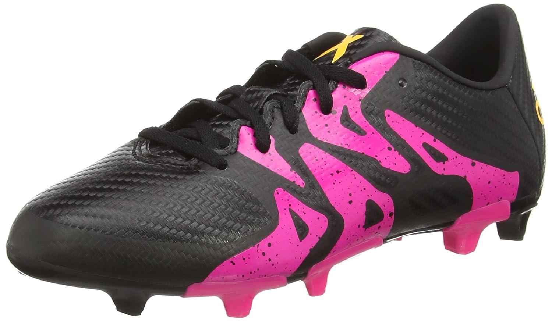 Adidas Jungen X 15.3 Fg AG Fußballschuhe, schwarz,pink