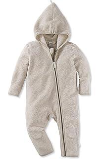 47781c4d6b hessnatur Baby Mädchen und Jungen Unisex Fleece Overall aus Reiner  Bio-Baumwolle