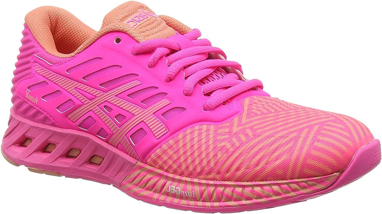 Asics Fuzex, Zapatillas de Running para Mujer, Rosa (Hot Pink ...