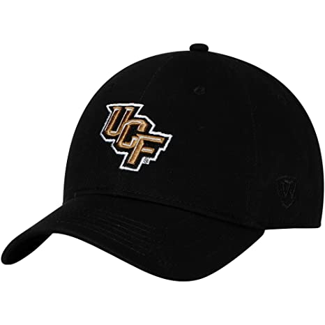 ded221fa77746 Image Unavailable. Image not available for. Color  Top of the World UCF  Knights Strike Unstructured Adjustable Hat Black