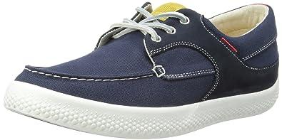 8b8fa8fdd670c6 Fitflop Men s Monty Boatmoc Canvas Boat Shoes