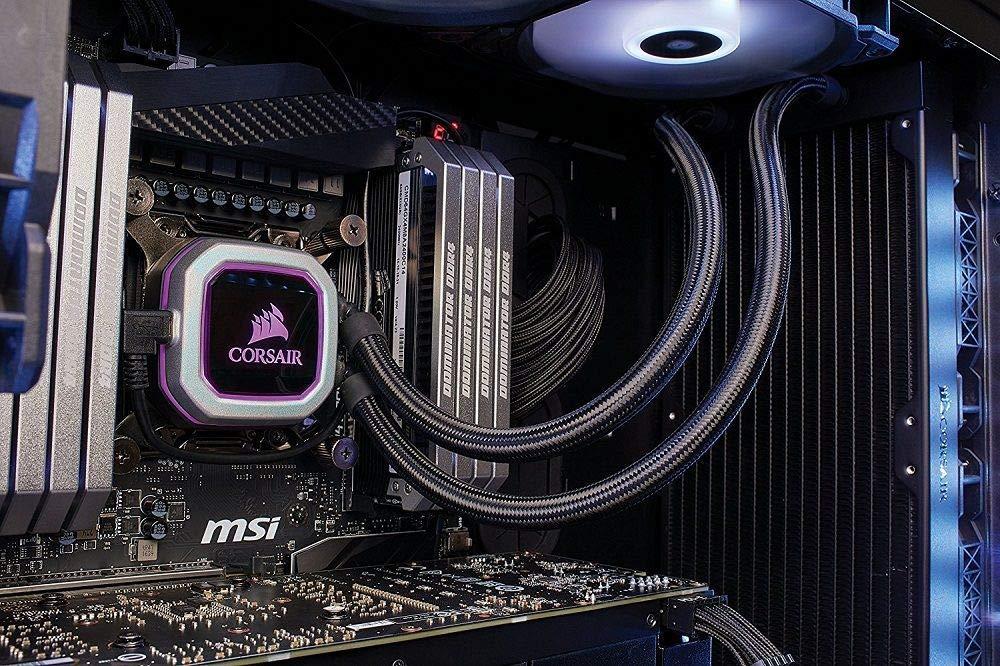 CORSAIR HYDRO Series H115i PRO RGB AIO Liquid CPU Cooler,280mm, Dual ML140 PWM Fans, Intel 115x/2066, AMD AM4 (Renewed) by Corsair (Image #8)