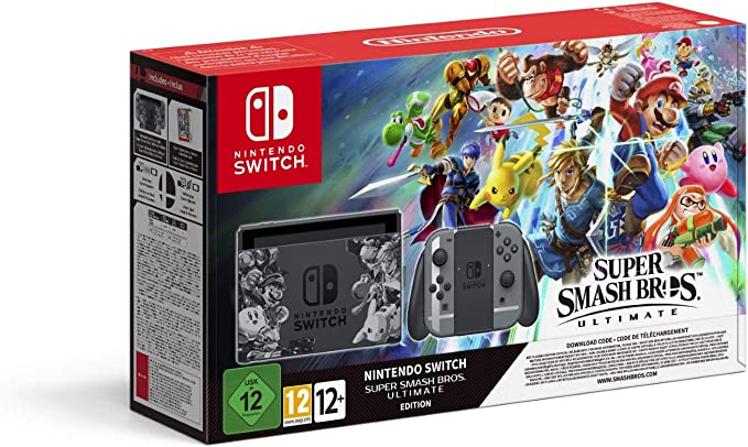 Nintendo Switch - Edición Super Smash Bros. Ultimate: Nintendo: Amazon.es: Videojuegos
