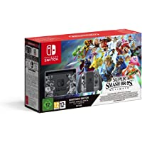 Nintendo Switch Super Smash Bros. Ultimate Set 32Go WiFi Noir Switch Super Smash Bros. Ultimate Set, Noir, 4096 Mo, NVIDIA Tegra X1, Flash, 32 Go, Super Smash Bros. Ultimate