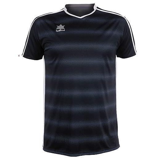 Luanvi Olimpia Camiseta de Fútbol, Hombre: Amazon.es: Deportes y aire libre