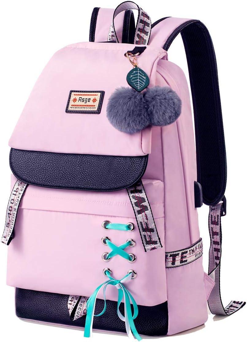 Amazon Com Asge Backpack For Girls Kids Schoolbag Children