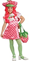 Rubies Costume Co Girls' Strawberry Shortcake Costume With Wig