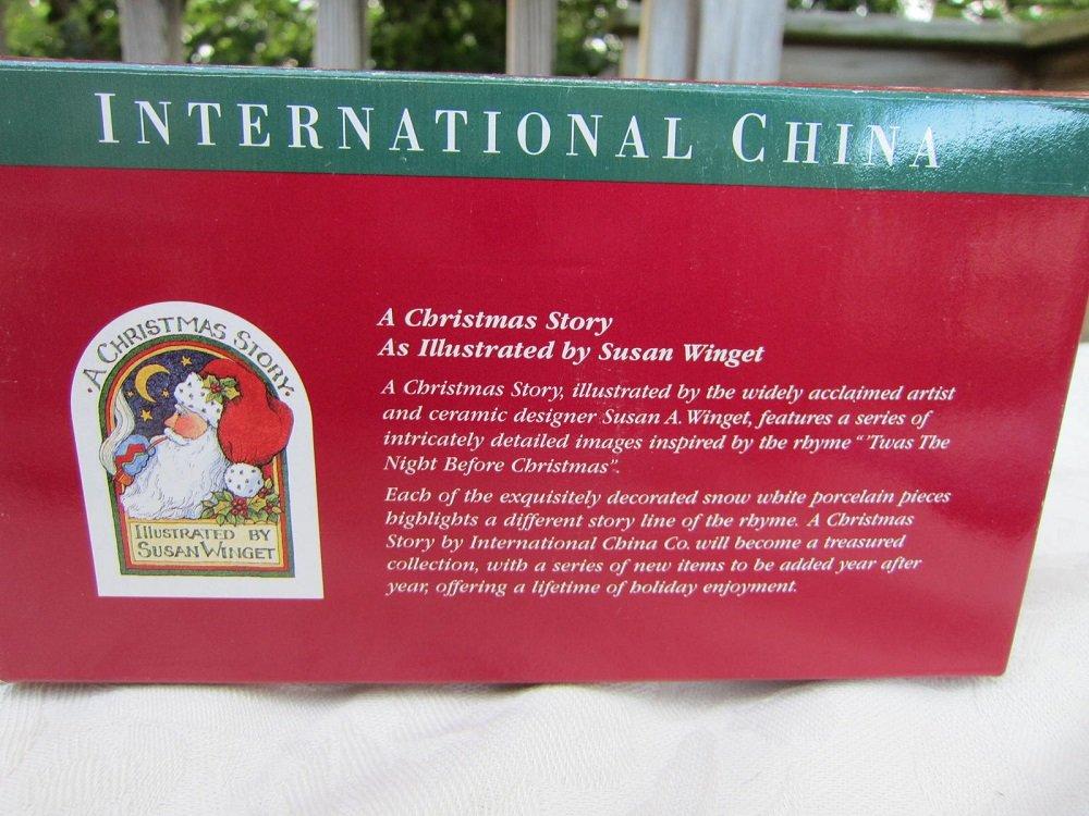 Amazon.com: International China CHRISTMAS STORY Mug Set Fine ...