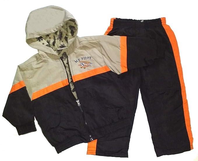 8b35afc5639c Amazon.com  Little Rebels Infant   Toddler Boys Ace Pilot Jacket ...