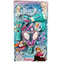 Kreiz Frozen Beauty Set Doll Beauty Parlor & Grooming Toy Set for Girls with Make up Accessories