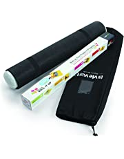 Lavievert Jigsaw Puzzle Roll Mat Puzzle Storage Mat Felt Mat, Long Box Package, Jigroll Up to 1,500 Pieces - Comes with A Drawstring Opening Design Bag