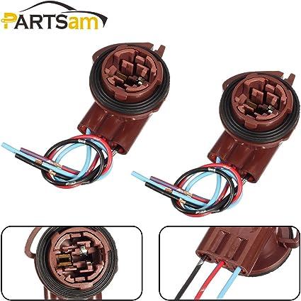 3156 3157 4157 Pre-Wired Harness Socket For LED Signal Lights Brake Light 2Pcs